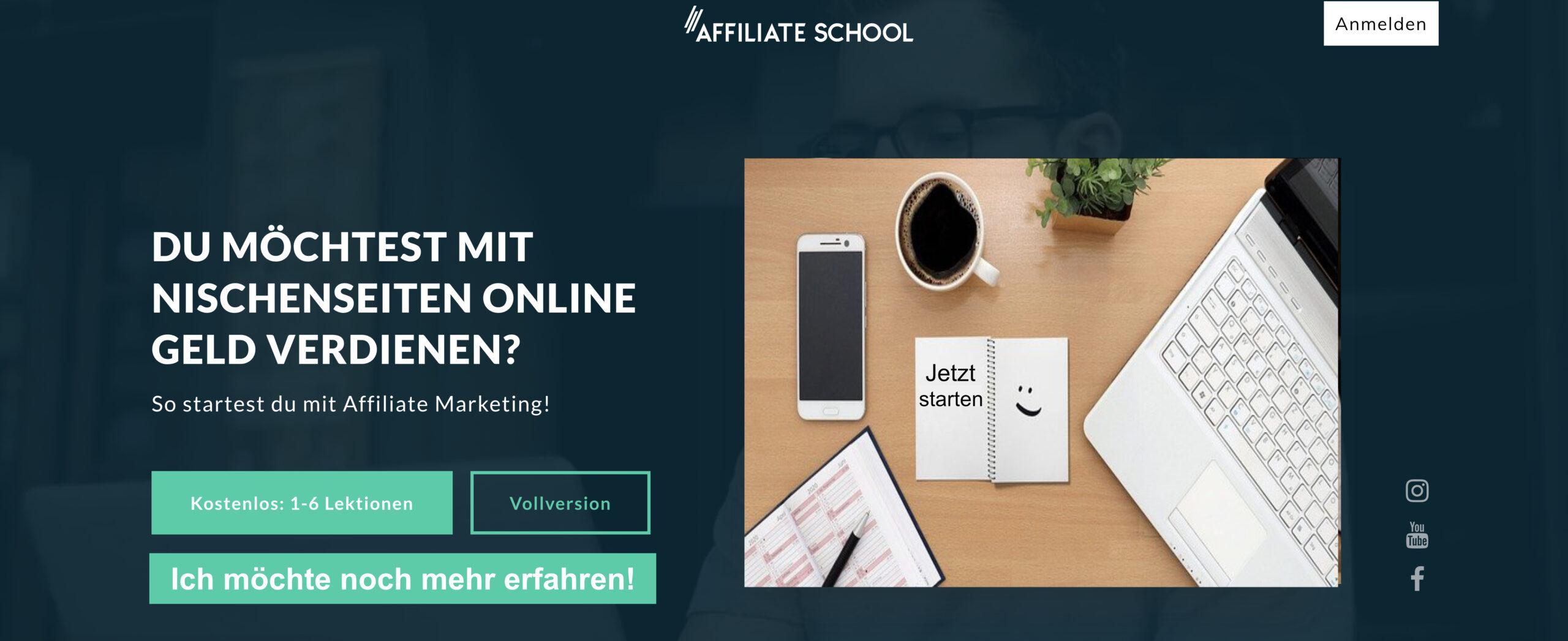 Affiliate Marketing Ausbildung